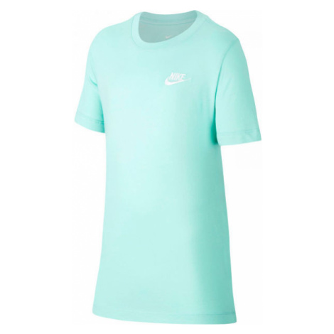 Nike NSW TEE EMB FUTURA B grün - Jungen Shirt