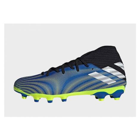 Adidas Nemeziz.3 MG Fußballschuh - Royal Blue / Cloud White / Solar Yellow - Herren, Royal Blue