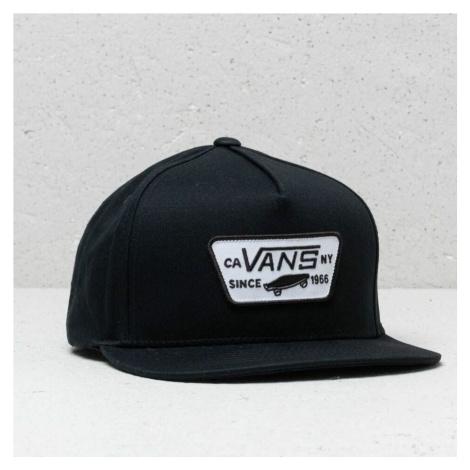 Vans Full Patch Snapback Cap True Black