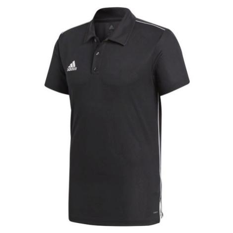 adidas CORE18 POLO schwarz - Polo T-Shirt