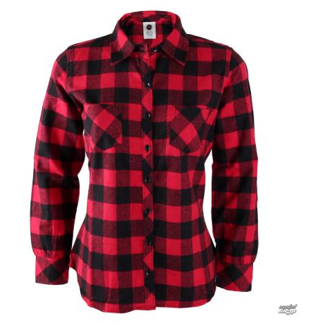 Damen Langarmhemd Rothco - PLAID - ROT - 55739 L