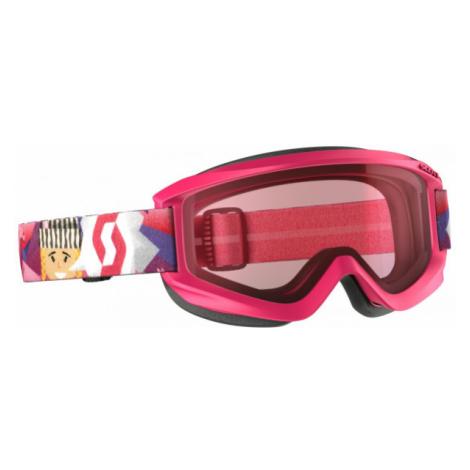 Scott JR AGENT AMPLIFIER rosa - Kinderskibrille