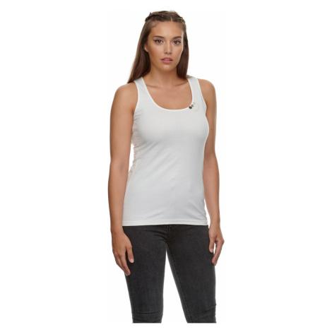 Ragwear Top Damen FLOUKIA ORGANIC 2111-10043 Weiß White 7000