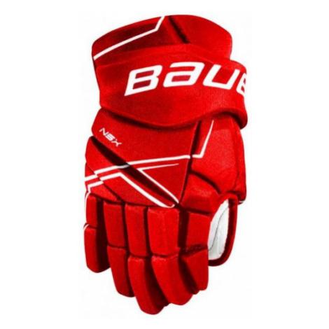 Bauer NSX GLOVES JR rot - Eishockey Handschuhe für Kinder