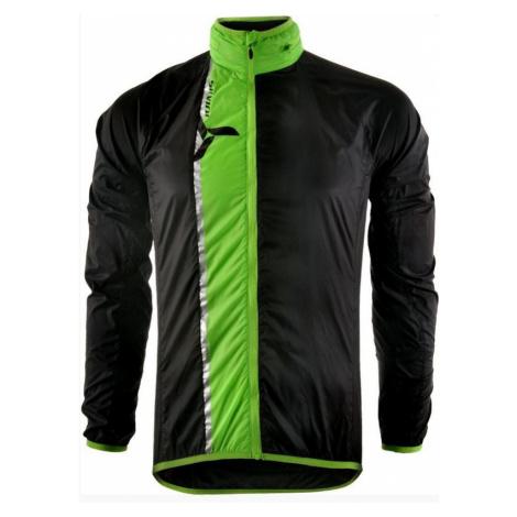 Herren ultra Light Jacke Silvini GELA MJ801 schwarz/grün