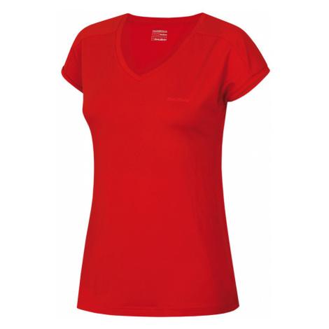 Damen T-Shirt Husky Tonie L red