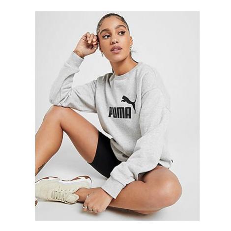 Puma Core Crew Sweatshirt Damen - Grey - Damen, Grey