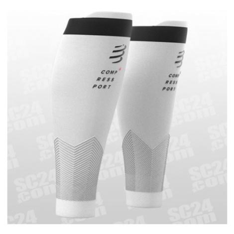 Compressport R2V2 Compression Calf Sleeves weiss/schwarz Größe 30-34