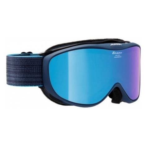 Alpina Sports CHALLENGE 2.0 MM blau - Unisex Skibrille