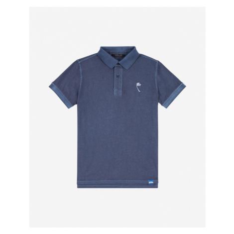 O'Neill Palm Polo T- Shirt Kinder Blau