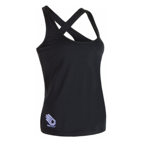 Damen Tank Top/Shirt Sensor COOLMAX FRESH PT HAND black 17100031