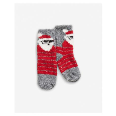 GAP Socken Kinder Rot Grau