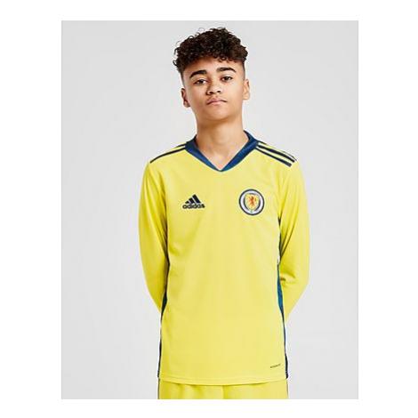 Adidas Schottland 2020 Home Torwart Trikot Kinder - Yellow/Blue - Kinder, Yellow/Blue