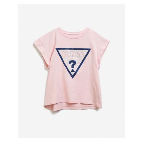 Guess Midi Kinder  T‑Shirt Rosa
