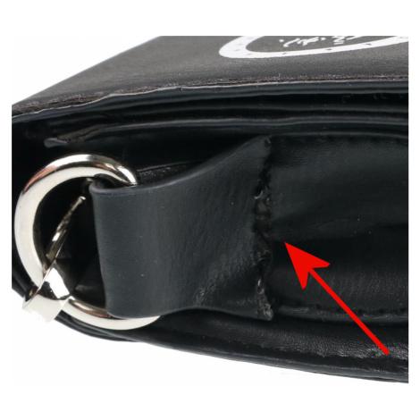 Handtasche (Tasche) POIZEN INDUSTRIES - OCCULT - SCHWARZ - BESCHÄDIGT - MA063