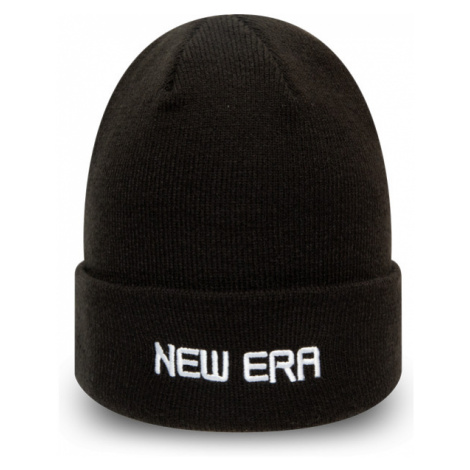 New Era ESSENTIAL CUFF KNIT schwarz - Wintermütze