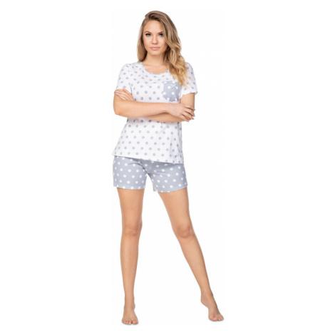 Damen Pyjamas Szara Regina