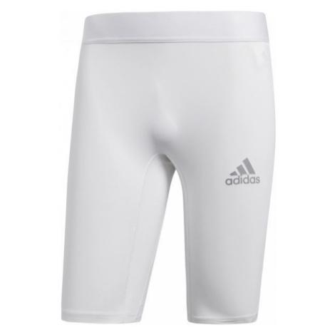 adidas ALPHASKIN SPORT SHORT TIGHTS weiß - Herren Unterhose