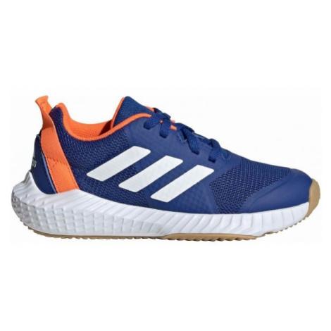 adidas FORTAGYM K blau - Kinder Hallenschuhe