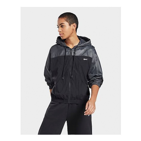 Reebok shiny woven jacket - Black - Damen, Black