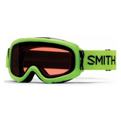 Grüne skibrillen