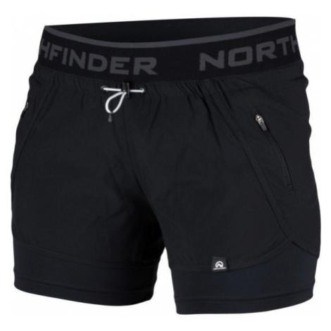 Northfinder HELEN schwarz - Damen Shorts
