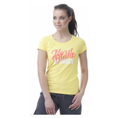 Damen T-Shirt Nordblanc NBSLT5646_ZLU