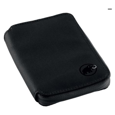 Geldbörse MAMMUT Zip Wallet Black 0001