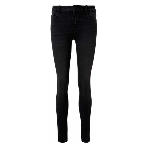 TOM TAILOR Damen Kate Skinny Jeans, grau