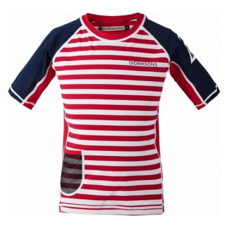 Kinder schwimmen T-Shirt Didriksons SURF 502473-946