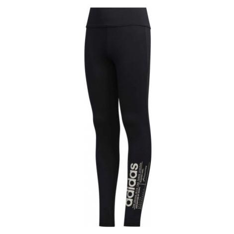 adidas YG BB TIGHT schwarz - Mädchen Leggings