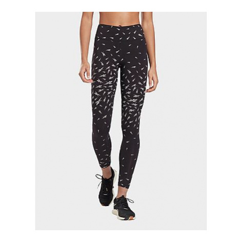 Reebok vector print leggings - Black - Damen, Black