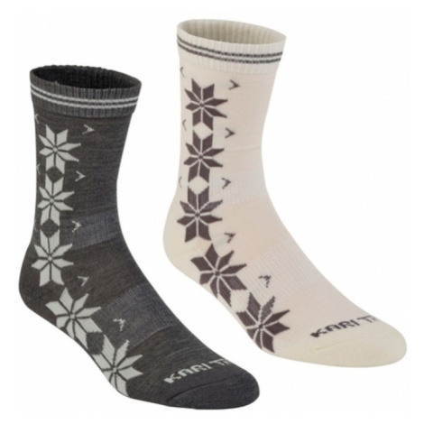 Socken Kari Traa VINST WOOL SOCK 2PK Dusty