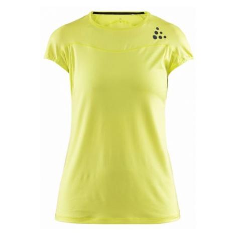 T-Shirt CRAFT Shade SS 1905845-611000 - yellow