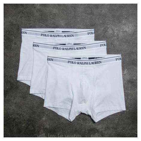 Ralph Lauren 3 Pack Trunks White