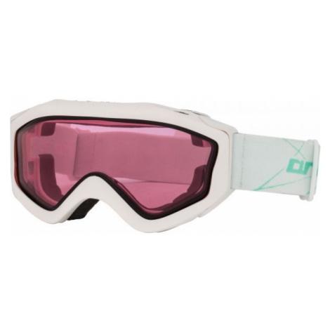 Weiβe skibrillen