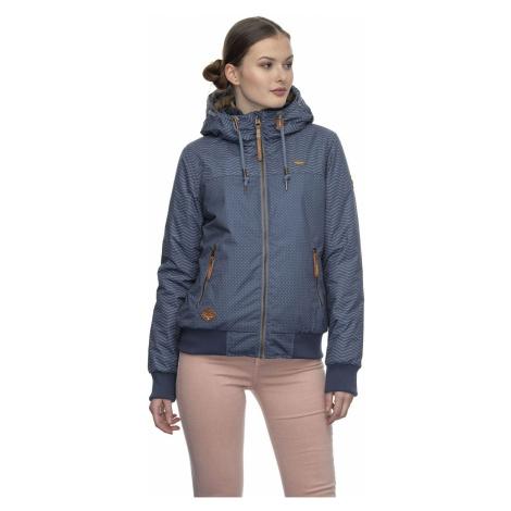 Ragwear Jacke Damen NUGGIE ZIG ZAG 2021-60004 Blau Blue 2040
