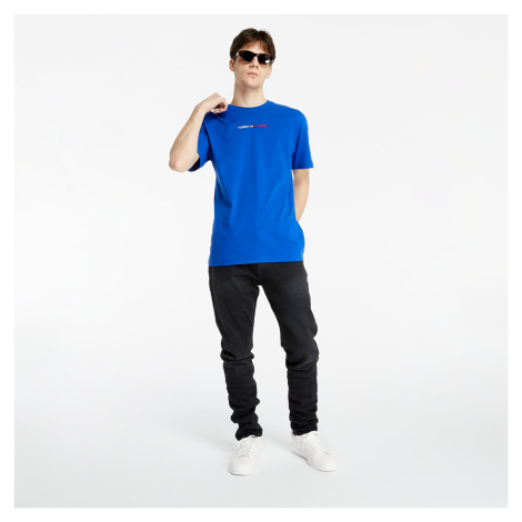 Tommy Jeans Linear Logo Tee Cobalt Tommy Hilfiger