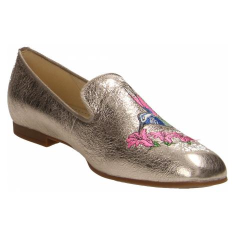 Damen Gabor Klassische Slipper metallic