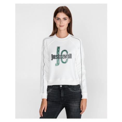 Just Cavalli Sweatshirt Weiß