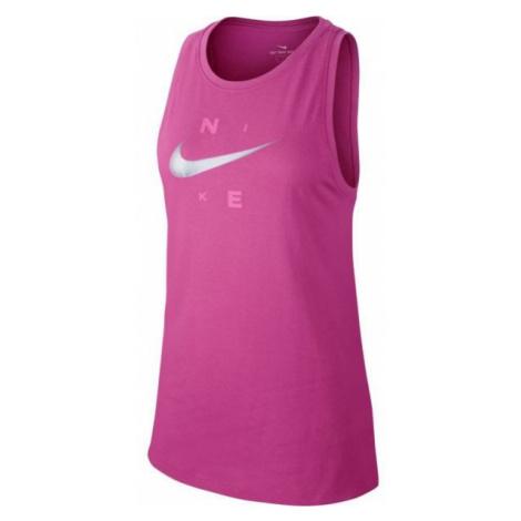 Nike DRY TANK DFC BRAND rosa - Damen Trainingstop