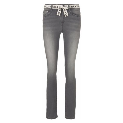 TOM TAILOR Damen Alexa Slim Jeans, grau, unifarben