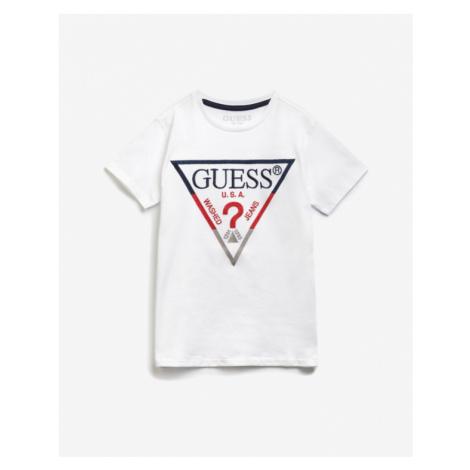 Guess Kinder  T‑Shirt Schwarz Weiß Grau