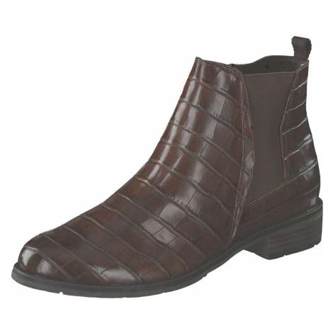 Marco Tozzi Chelsea Boot Damen braun