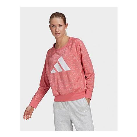 Adidas Sportswear Winners Badge of Sport Sweatshirt - Hazy Rose - Damen, Hazy Rose