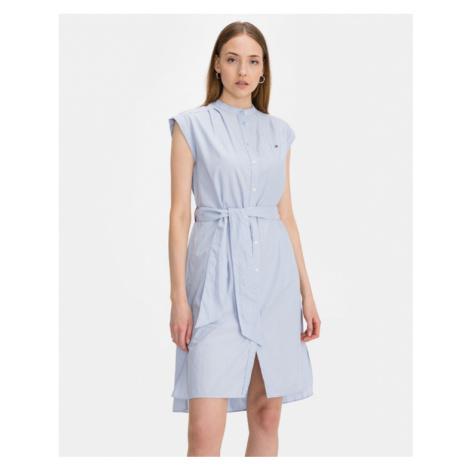 Tommy Hilfiger Oxford Kleid Blau