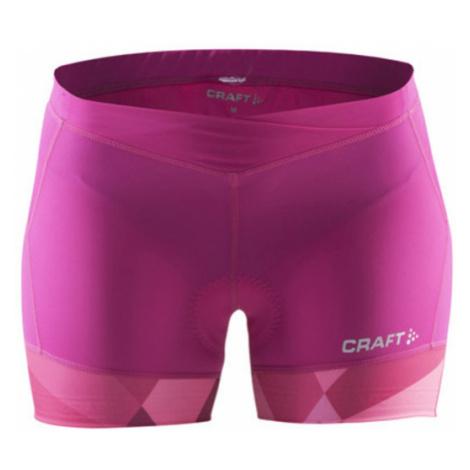 Radhose CRAFT Velo Hot 1903985-2403 - pink mit Druck