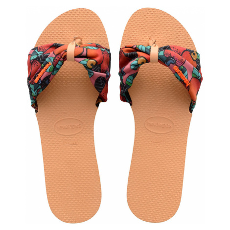 Havaianas Sandale Damen H. YOU ST TPZ FC 4140714 1976 Mehrfarbig Rust