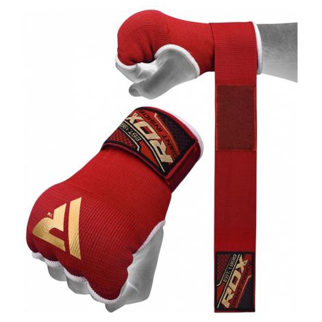 RDX 75cm Gel Innenhandschuhe mit Handgelenkgurt Rot