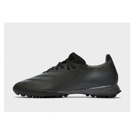 Adidas X Ghosted.3 TF Fußballschuh - Core Black / Grey Six / Core Black - Herren, Core Black / G